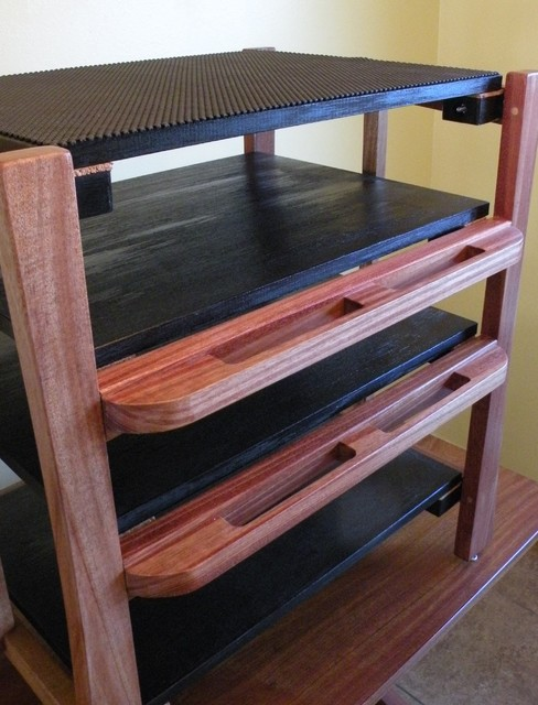 Audio Isolation System (AIS) Equipment Rack - Craftsman - Home Theater ...
