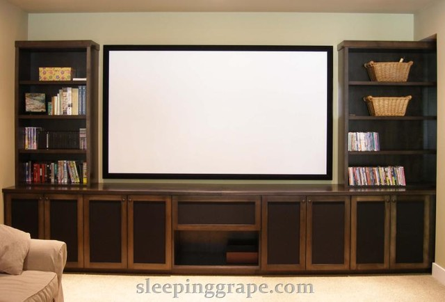 Audio Visual / Media Rooms contemporary-home-theater