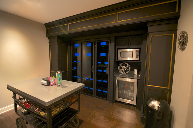 Audiophile Home Theater Transitional Home Theater