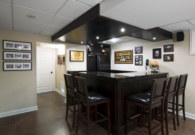 Aurora, Il -- Basement Design and Remodel contemporary media room