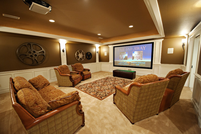 12 woodland ridge basement theater room