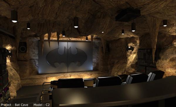 Elite contemporary-home-theater