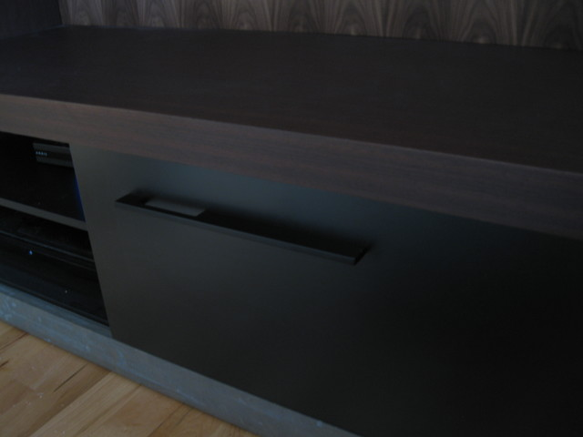 Belgravia Re-New Fireplace contemporary-home-theater