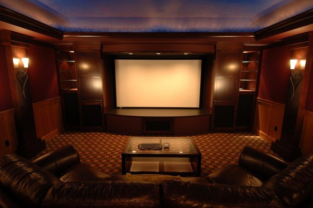 Bellevue Home Theater - Contemporary - Home Theater - seattle - by ...