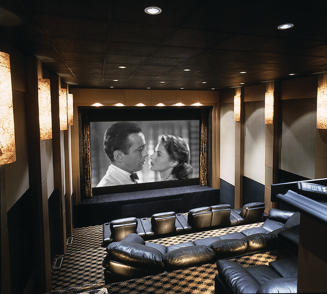Best Home Theater With Stage Contemporary Home Theatre