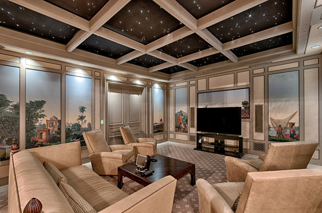 Biltmore Forest home-theater