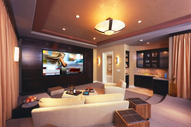 Bliss home theaters automation inc - Living room home theater ...