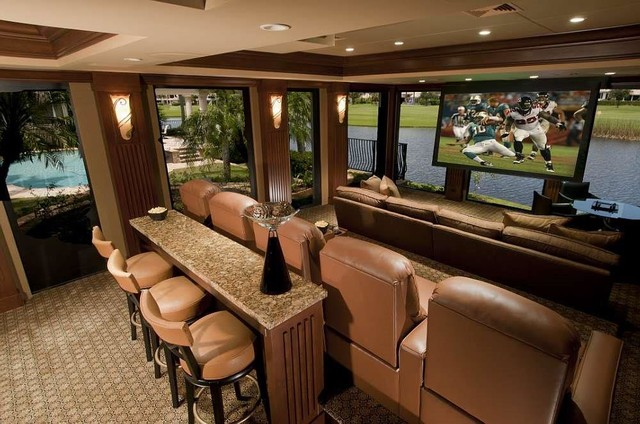Boca Raton St Andrews Country Club Home Theater