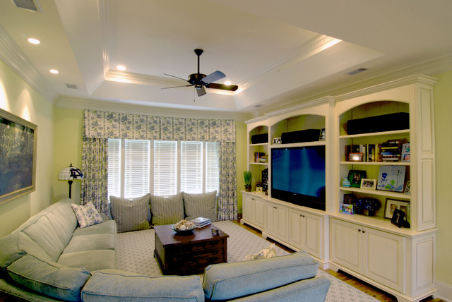 Bonus Rooms traditional-home-theater