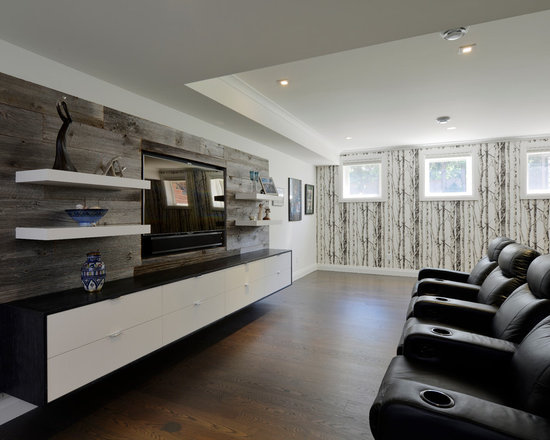 Floating Entertainment Center Home Design Ideas, Pictures, Remodel and