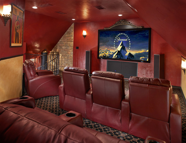 Bruce Graf contemporary media room