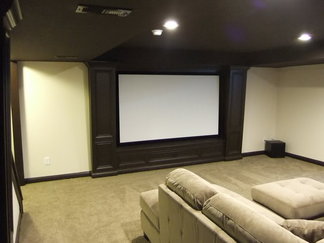 Media Room Ideas On A Budget Part - 27: Budget Theater Media Room Budget Theater - Media Room - Other Metro - By  360 Services, LLC