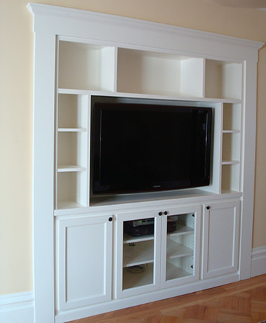 Built-In Furniture - Home Theater - san francisco - by Case & Space