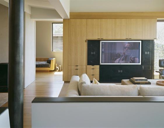 Buttrick Wong Architects modern-home-theater