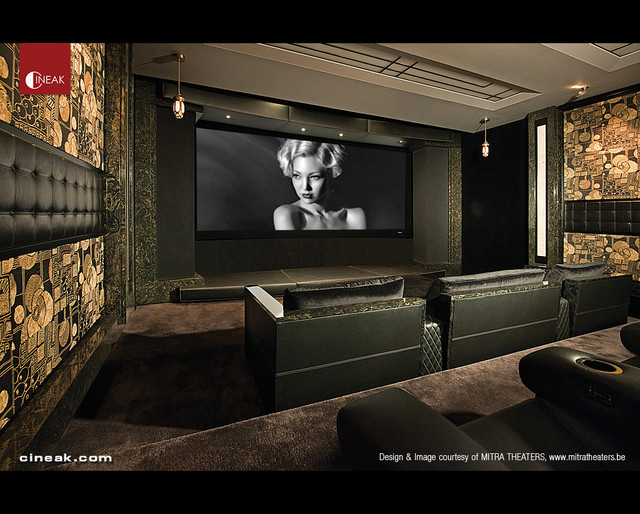 Cineak fortuny cosymo home theater modern home for Luxury home theater rooms