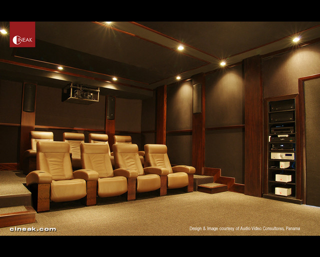 CINEAK Home Fortuny Theater Seats In New Theater By Audio Video Consultores