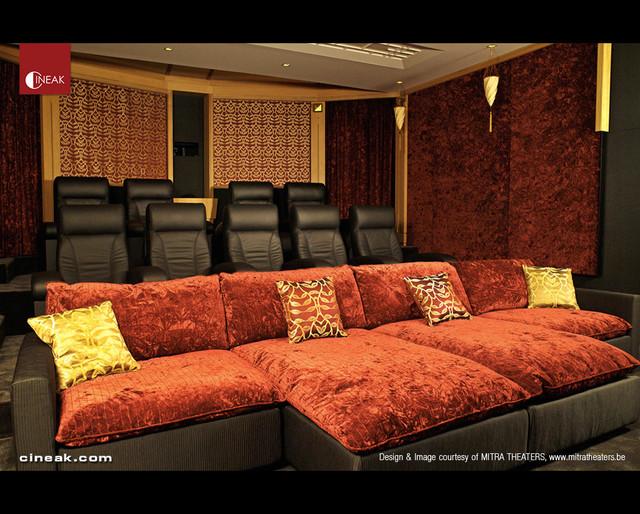 Cineak Intimo & Fortuny Luxury Home Theater - Modern - Hemmabio ...