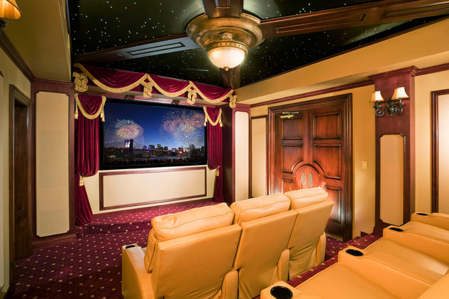 Classic Home Theater Traditional