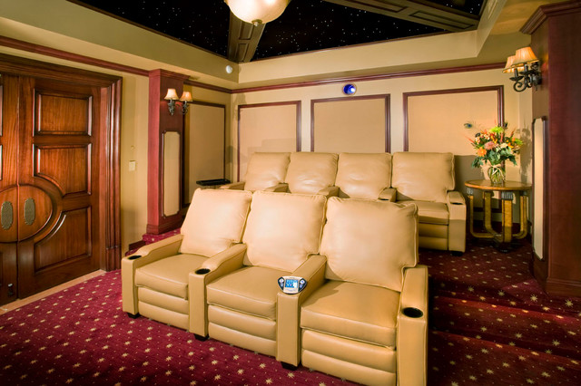 Classic Home Theater traditional-home-theater