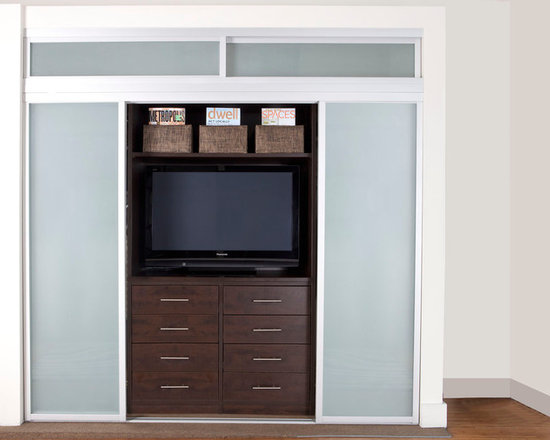 Closet Entertainment Center -