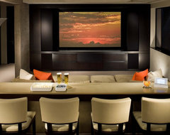 Magnifico Residence contemporary media room