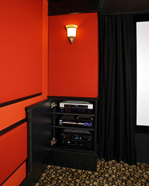 Home Theater Component Cabinet