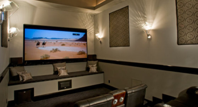 Contemporary Luxury Home Design - Modern - Home Theater ...