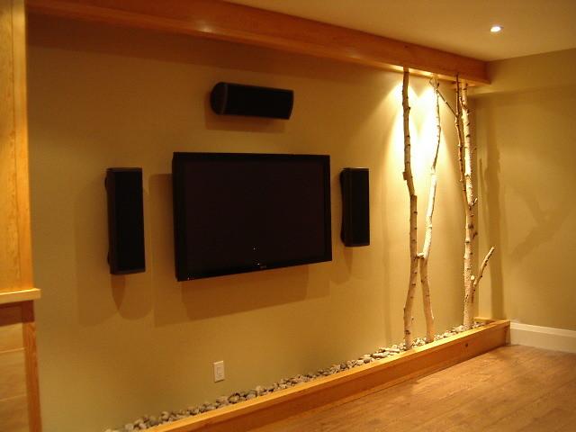 Contemporary Media Room contemporary-home-theater