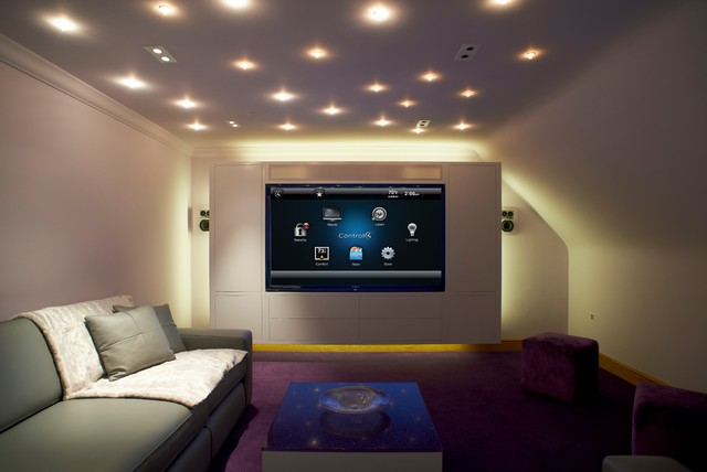 Control4 Smart Home Interface Example Contemporary