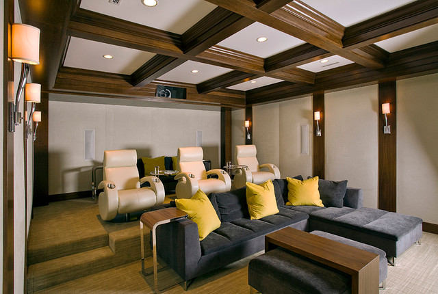 Courtland transitional-home-theater