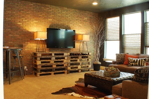 Like The Crates For A Tv Stand