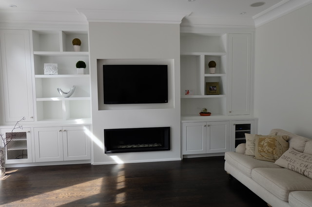 Custom Built Ins And Wall Units