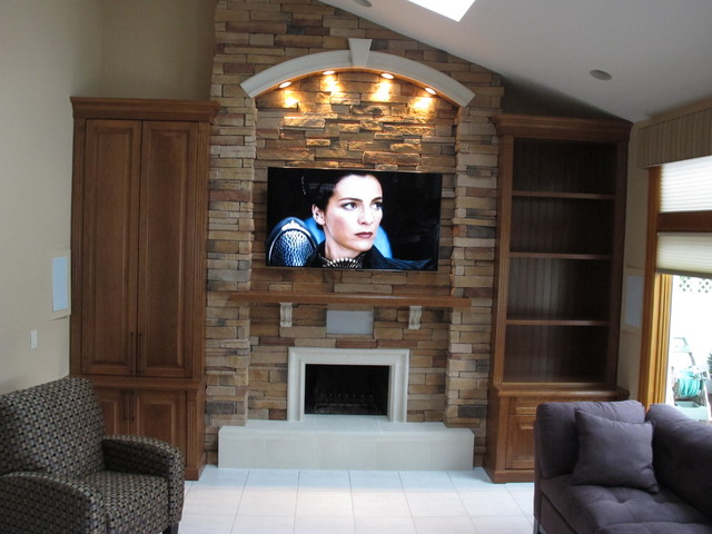 Custom Fireplace Amp Tv Cabinets