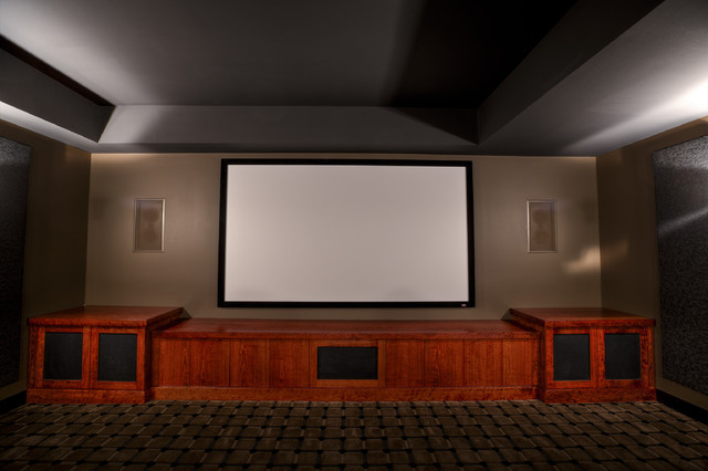 Custom Home Theater Contemporary Home Theater Philadelphia By West Ch