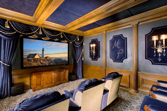 Custom Home Theater Costa Mesa Showroom Traditional Home Theater Oran