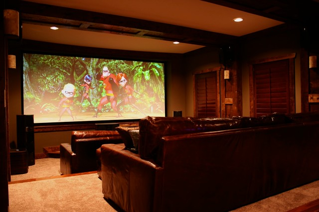 Custom Home Theater Contemporary Home Theater Nashville By