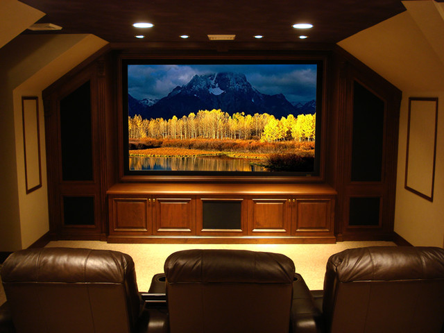 Custom Home Theater Little Silver NJ Traditional Home Theater