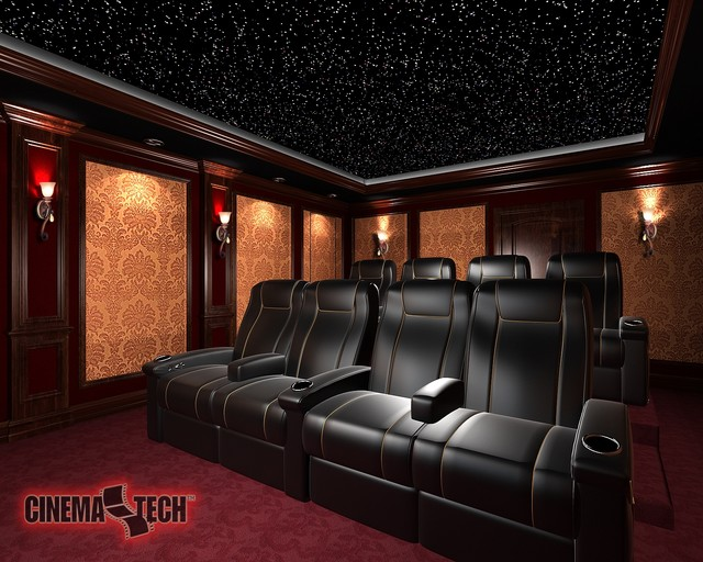 Custom home theater for House plans with media room