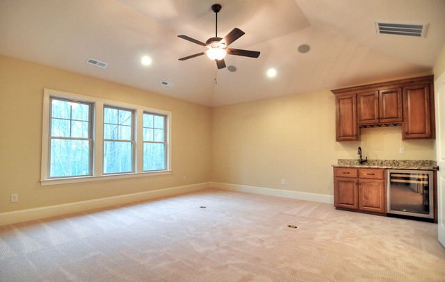 Custom Home Waxhaw 3 - traditional - media room - charlotte - by ...