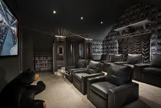 Custom Residence - Contemporary - Home Theater - orlando - by Zoltan Construction LLC