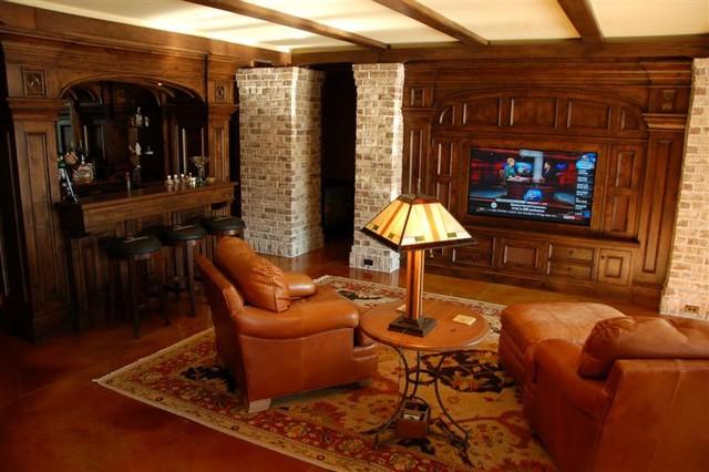 Custom Speaker Grills Traditional Home Cinema