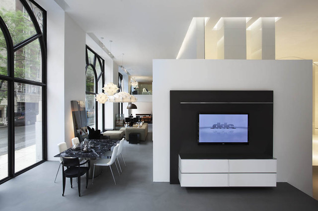 Wonderful DDC Showroom NYC: 7 Contemporary Home Theater