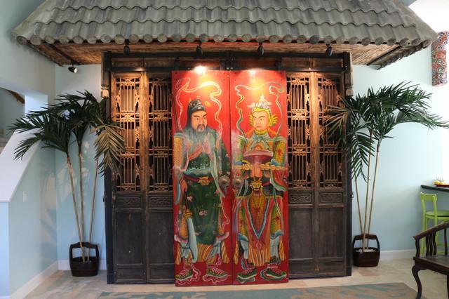 Design Ideas - Chinese Antique Doors - Shanghai Green Antiques asian -home-theatre - Design Ideas - Chinese Antique Doors - Shanghai Green Antiques