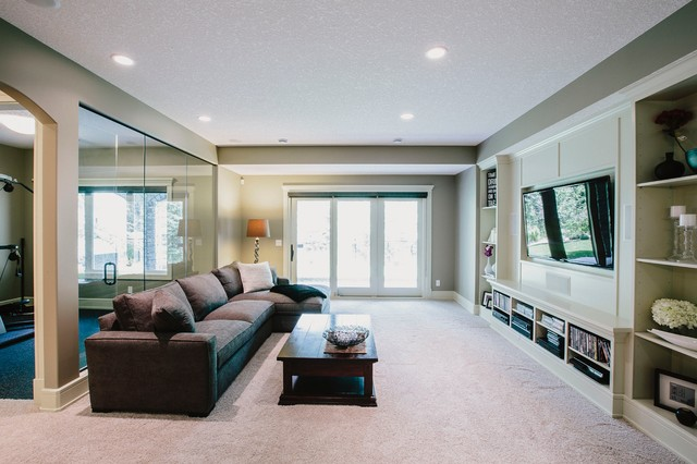 Discovery Ridge - traditional - media room - calgary - by Defined ...