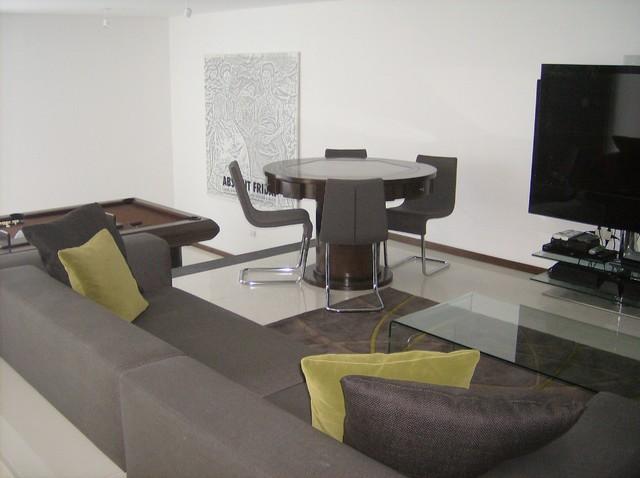 Diseño de Interiores - Cuarto T.V. - Contemporary - Home ...