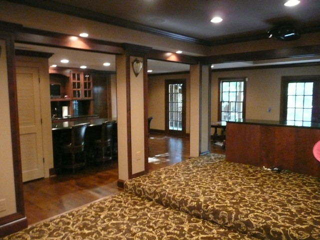 Dunwoody Home Theater traditional-home-theater