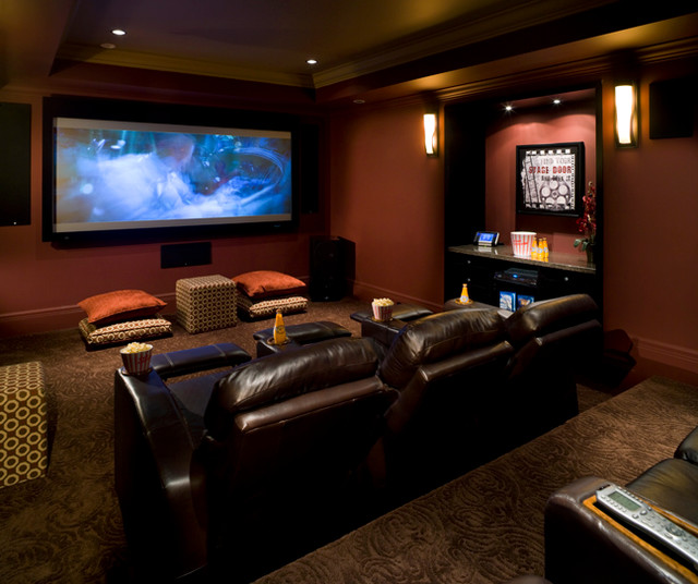 Eagles Rest traditional-home-theater