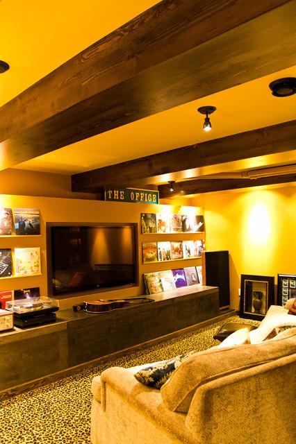 Eclectic Home Theater eclectico-cine-en-casa