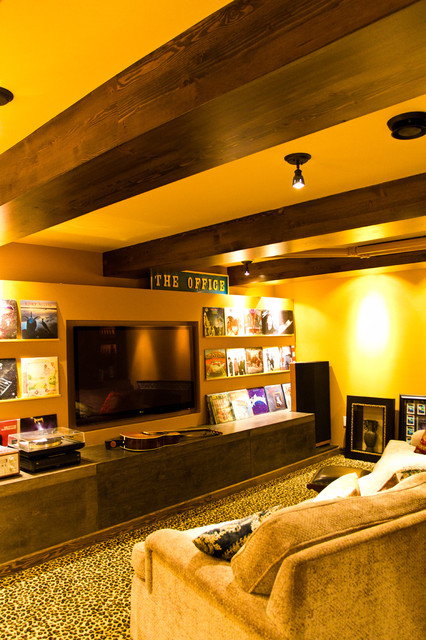 Eclectic Home Theater eclectic-home-theater
