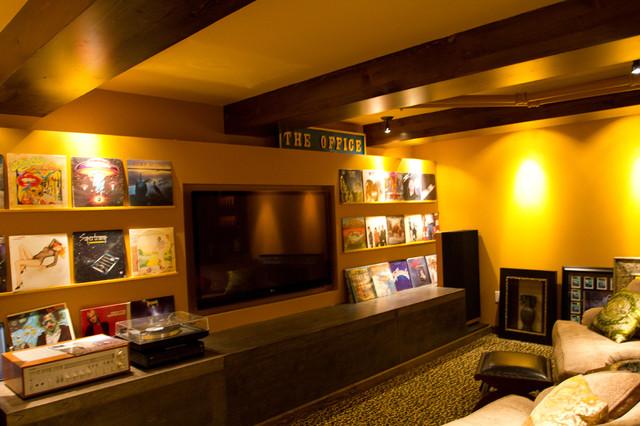 Eclectic Home Theater eclectic-home-theater